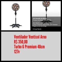 Ventilador Ventisol Arno/ Frete Grátis para maioria dos bairros