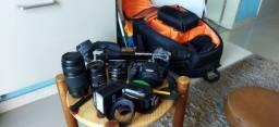 Título do anúncio: Câmera Canon SL2  Tudo por R$ 6.500,00