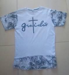 Camisas longline tamanho M