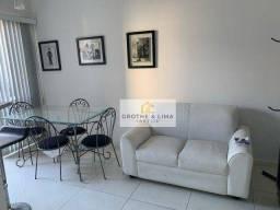 Apartamento Duplex mobiliado com 1 dormitório à venda, 50 m² por R$ 265.000 - Vila Adyana