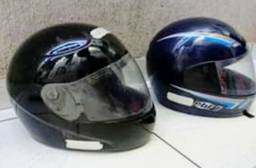 Título do anúncio: Capacetes Para Motociclista Os Dois Por