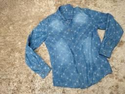 Camisa Social Tamanho 1 ou veste de 12 a 16