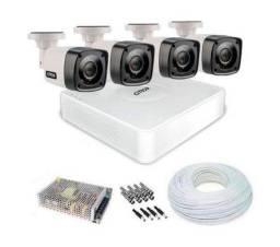 Chegou ! KIT - CFTV - Câmera de Segurança R$ 1300,00 - Instalado