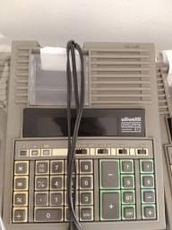 Título do anúncio: Calculadoras Olivetti divisumma usadas