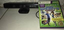 Kinect 360 e jogo de Xbox 360