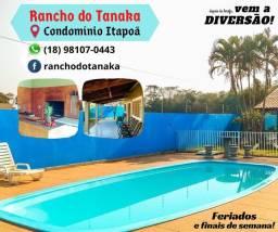 Título do anúncio: Rancho condomínio itapoã 20 km de Araçatuba