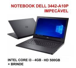 Notebook Dell Inspiron 14 3542-A10P Intel Core i3 4gb hd 500gb + Brinde