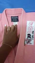 Kimono Seishin reforçado com faixa - infantil