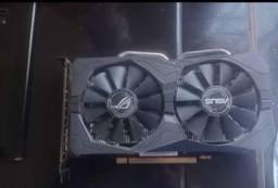 Placa de vídeo - RX460 4GB DDR5 DUAL FAN ASUS STRIX