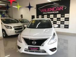 Nissan Versa SL 1.6 Manual 2016 IPVA 2021 Grátis e Primeira Parcela Para 90 Dias