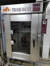 Título do anúncio: Forno Elétrico Turbo Tedesco FTT 300E - 10 esteiras