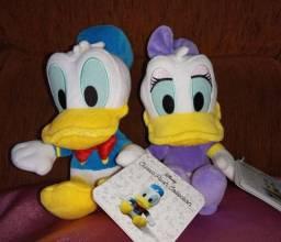 Pelúcia Disney: Pato Donald e Margarida