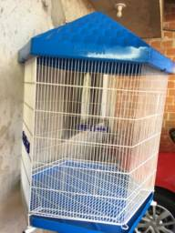 Título do anúncio: Gaiola viveiro de 6 lados pra pássaros