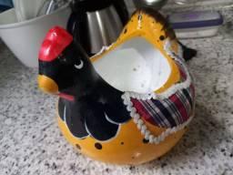 Galinha Decorativa - Porta Ovos