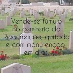 Túmulo QUITADO - Cemitério da Ressurreição