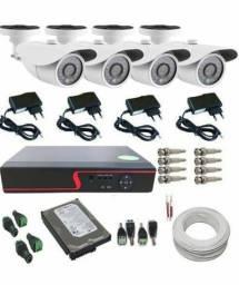 Kit câmeras segurança