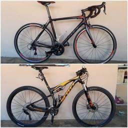 Bike Scott CR1 20, bike Scott Spark 940 usadas, ñ caloi, specialized, trek, focus, sram.