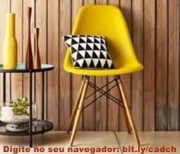 Cadeira Charles Eames Wood Eiffel - Frete Gratis!