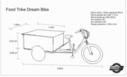 Triciclo Food Bike Trike - Dream Bike -usada