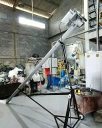 Rosca transportadora helicoidal/chupim