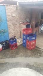 Caixas de cervejas com casco