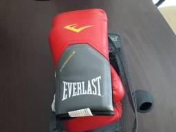 Luva Everlast Training NOVA vermelha 12oz