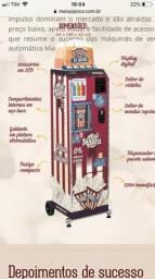 Máquina Vending Machine Mais Pipoca