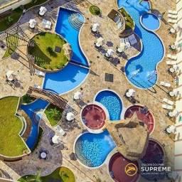 Flat Disponível em Caldas Novas no Golden Dolphin Gran Hotel piscinas 24 horas ferias