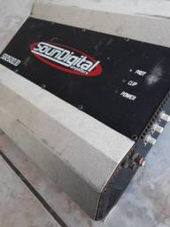Módulo Amplificador Soundigital SD 2500 1 2 ohms