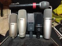 Microfones Condensador AKG Shure Superlux e Karsect confira, usado comprar usado  Goiânia