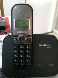 Telefone Sem Fio Intelbras Ts5150 (2 Linhas) - Usado