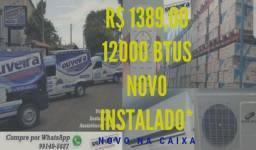Menor preço do Estado em ar condicionado split 9000 e 12000 btus já instalados*Novos