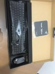 Mouse e teclado razer usados