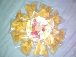 Batata chips cequinha e crocante