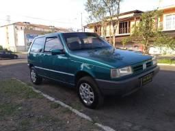 Fiat/uno mille sx young 1.0 2portas 1998 verde - 1998