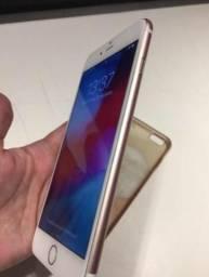 Iphone 6s plus Rose 128gb vendo ou troco