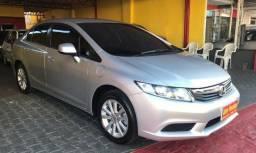 2014/2014. Civic LXS Estado 0Km. Mecânico. Pneus Novos. Excelente Preço. Troco/Financio - 2014