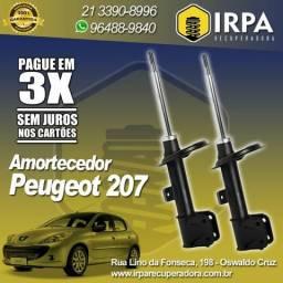 Amortecedor Recondicionado Remanufaturado - Par Dianteiro - Peugeot 207