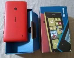Nokia 520 Vermelho - Novo
