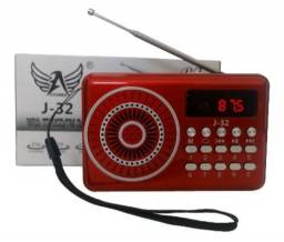 Rádio Retrô FM, PENDRIVE, USB, TF, BLUETOOTH e ENTRADA AUX.