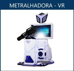 Simulador De Realidade Virtual Metralhadora Vr