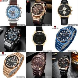 Relógios masculinos originais importados de qualidade incrível