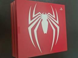 Ps4 pro edição limitada spider man 1 tb