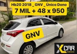 Hb 20 Confort Plus 1.0 - 2018 + GNV _ Pouco Rodado _ Completo