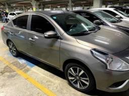 Nissan Versa SL 2018 Automático Único dono Ipva pago Multimídia Couro