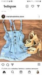 macaquinho jeans nro 42