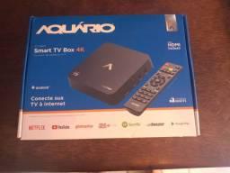 Aquário tv box 4k