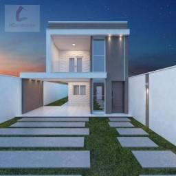 Título do anúncio: Casa com 3 dormitórios à venda, 144 m² por R$ 519.000,00 - Eusébio - Eusébio/CE