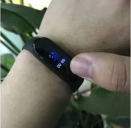 M4 pulseira inteligente esportiva ,com monitor de frequência cardíaca