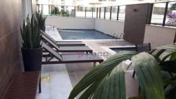 Apartamento com 1 dormitório para alugar, 37 m² por R$ 2.000,00/mês - Jardim Aquarius - Sã